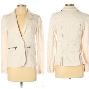 Marc by Marc Jacobs Cream Jacket Blazer Size 4